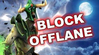 Dota Tricks: NEW Offlane creeps blocking - 7.14 !