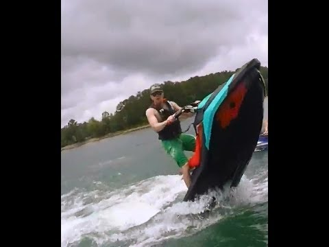 Summer 2017 -Sea doo Trixx (Spark) Wheelie Fun