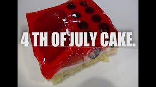 4 th of  July Cake -Delicious Homemade Cake Episode #16