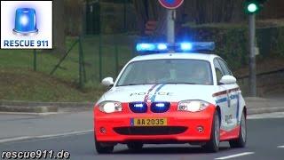 [Luxembourg] Police, SAMU, Protection Civile, Incendie Ambulances