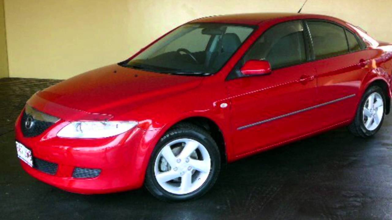2003 mazda 6 gg classic red 4 speed auto activematic hatchback