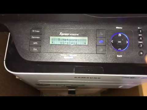 How to connect Samsung printer to wifi router