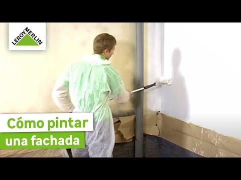 Cómo pintar una fachada exterior (Leroy Merlin)