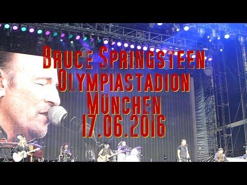 Bruce Springsteen LIVE @ München 17.06.2016 Full Concert (HD)