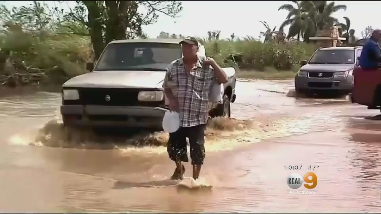 People In Puerto Rico Begging For Help After Direct Hit From Hurricane Maria