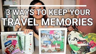 3 ways to display your Travel Memories | IreviewUread DIY