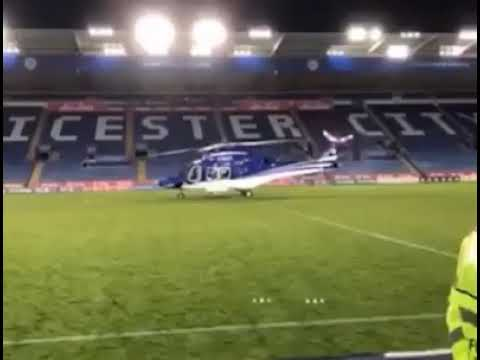Helicopter crash Leicester city football club