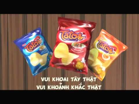 Tatos Snack Khoai Tây in Salon Tvc