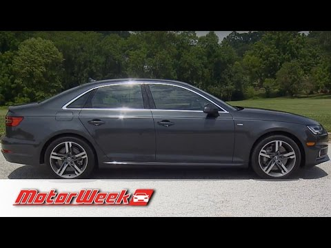 Road Test: 2017 Audi A4 - Better, and a Trend Setter