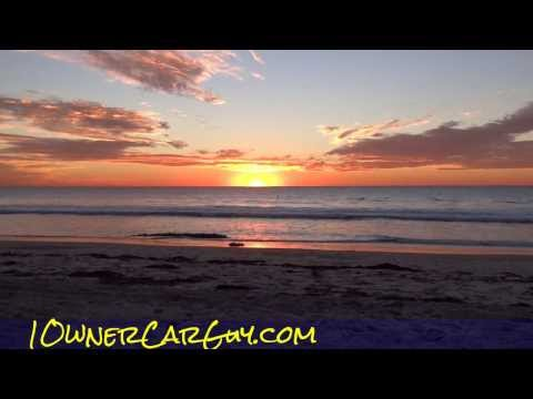 Ocean Sunset San Diego Beach PB Orange Skies Video