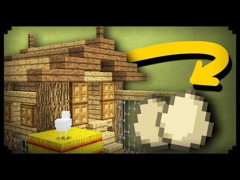✔ Minecraft: How To Make A Working Chicken Coop