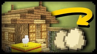 ✔ Minecraft: How to make a Working Chicken Coop(, 2016-10-06T19:48:37.000Z)