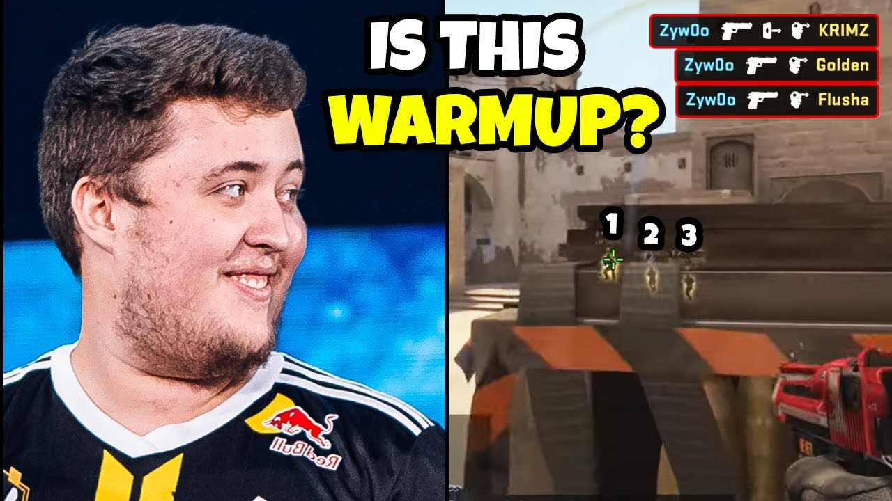 Zywoo made fnatic players deranked to Silver 1... - CSGO FUNNY & PRO MOMENTS