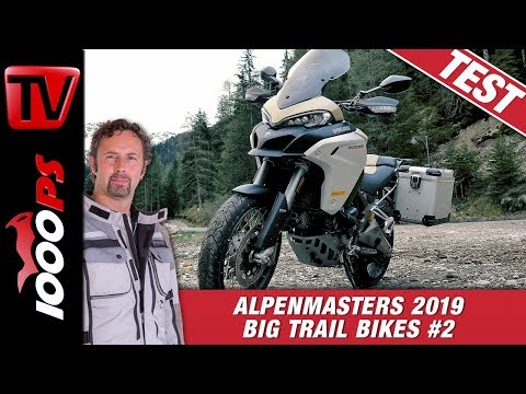Ducati Multistrada 1260 Enduro im Alpenmasters Test - Vergleich - große Reiseenduros 2/4