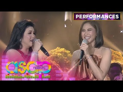 MUST-WATCH: Regine turns emotional during her duet with Sarah G!   ASAP Natin 'To
