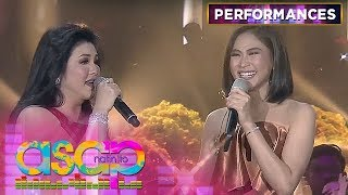 MUST-WATCH: Regine turns emotional during her duet with Sarah G! | ASAP Natin 'To