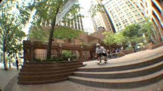 Larry Lanza vs. pyramid ledges