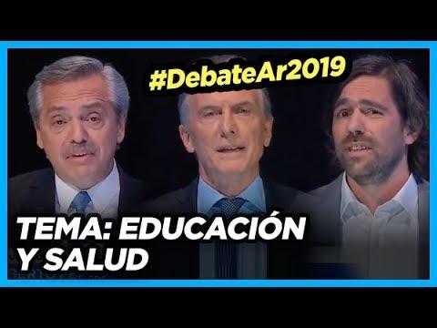 #DebateAr2019 TEMA: Educación y Salud