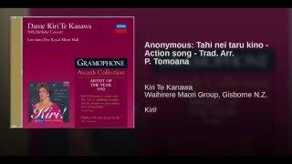 Tahi nei taru kino - Action song - Trad. Arr. P. Tomoana