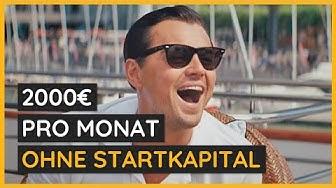 2.000€ pro monat OHNE STARTKAPITAL | Online Geld verdienen 2019 | NetCash