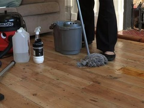 How To Clean Hardwood Flooring  YouTube