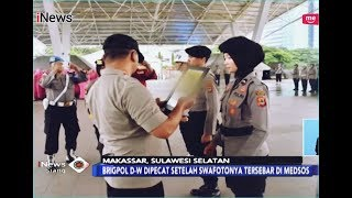 Foto Selfie Seksi Tersebar, Polwan di Makassar Dipecat - iNews Siang 04/01
