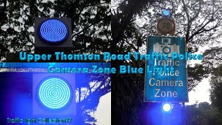 Upper Thomson Road Traffic Police Camera Zone Blue Light