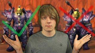 Prostowanie Orka w Battle For Azeroth! Widać Różnicę?