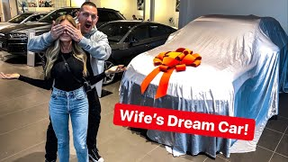 SURPRISING MY WIFE WITH HER DREAM CAR!