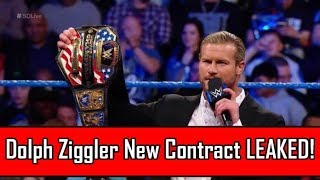Dolph Ziggler's New WWE Contract Will Shock You!