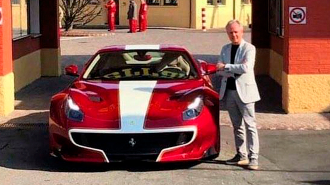 Horacio Pagani Buys His Ferrari F12 Tdf Tailor Made Youtube