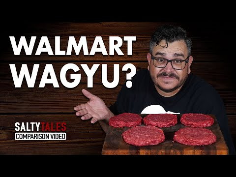 WAGYU BURGERS From WALMART? - How To Grill Burgers | Salty Tales