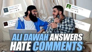 Ali Dawah Answers Hate Comments
