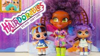 Куклы #ЛОЛ Сюрприз и Куклы Блогеры Игрушки для девочек Распаковка HAIRDORABLES Surprise Dolls