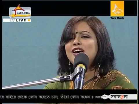 Sumana Chakraborty Gaanbhashi live Tara Sandhya Mukherjee Medley