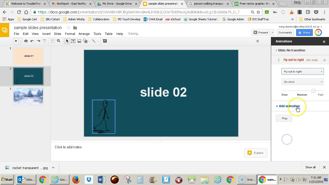 google slides how to add animation youtube