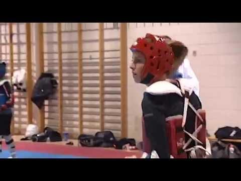 L Esprit Sportif Tva Remparts Taekwondo Charlotte Brown Gilles Gilbert Vs J Béliveau Youtube