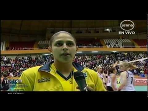 Brasil x China 3set FIVB Women's Junior 2011