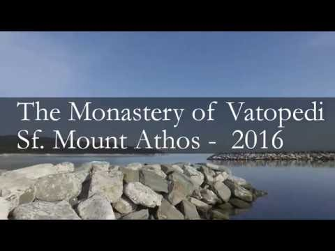 "A pilgrimage to the Holy Monastery ""Vatopedi"", Mount Athos April 2016 (Greece) Mount of Ortodoxy"