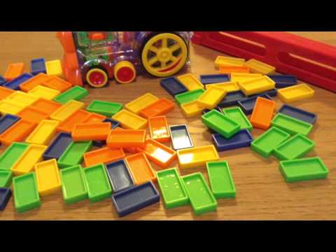Domino Train switch adapted toy