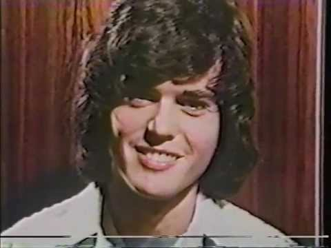 Donny Osmond - 1975 Interview