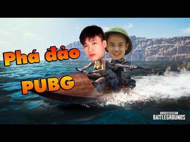 """Hai phượt thủ Quang Brave cùng TXT ra đảo PUBG """" đào vàng """""""