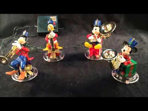 Mr Christmas Mickeys Brass Band Musical Mickey Mouse Disney Display