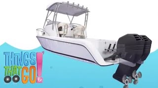 MOTORBOAT | Boat videos for kids. Preschool & Kindergarten learning.