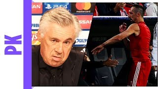 Ribery-Ausraster in der Champions-League | Was sagt Ancelotti?
