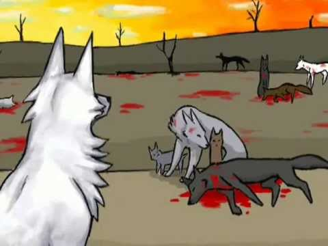 Does this darkness have a name? - a wolf animation -