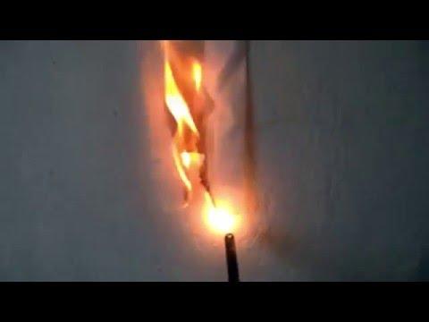 how to make fire retardant spray for paper