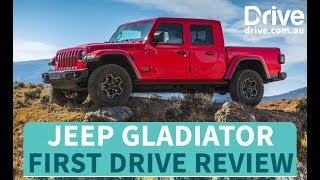 Jeep Gladiator First Drive Review | Drive.com.au