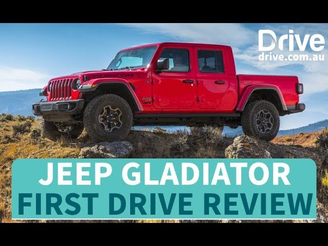 Jeep Gladiator First Drive Review Drive Com Au Youtube