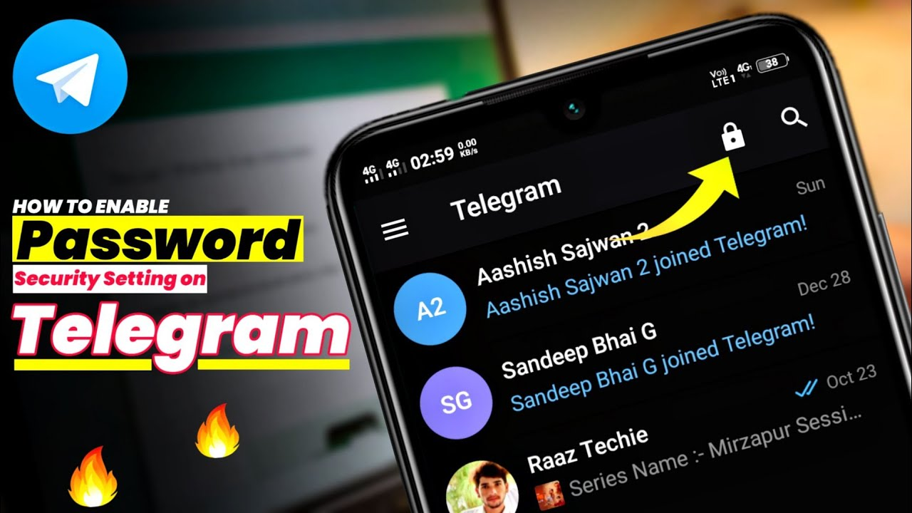 Download How To Enable Passcode Lock in Telegram App On Android Phone || Telegram Passcode Lock ||